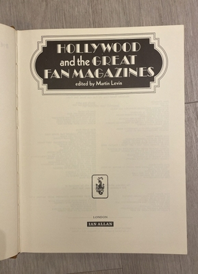Hollywood and the great fan magazine.