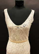 1930's-style Ivory broderie anglaise gown/36