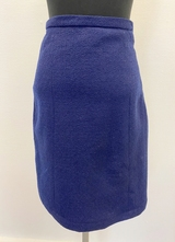 1960's Darkblue skirt/34-36