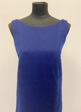 1960's Blue dress with open back/36