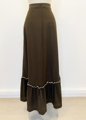 1970's Brown skirt/36-38